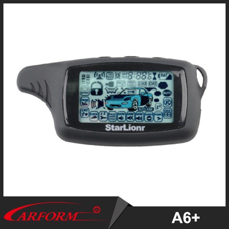 DOS accesorios de alarma del coche de manera A6 + con CE, ISO9000