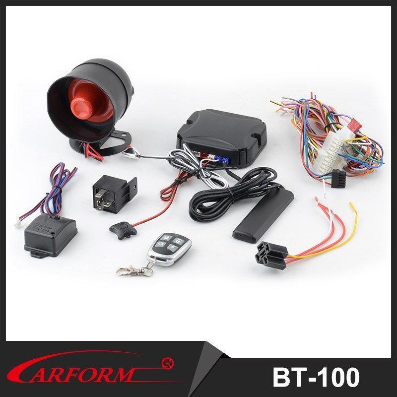 Newest PKE Car Alarm System Bluetooth Car Alarm with Starlionr Mobile APP