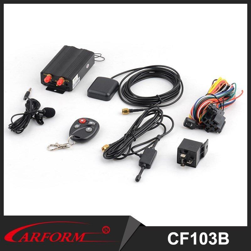 Customized GPS Car Alarm Car Security System with Monitor and Location