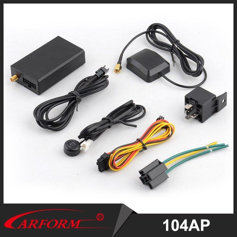 Coche Monitor y ubicación GPS Tracker con antena GSM interior