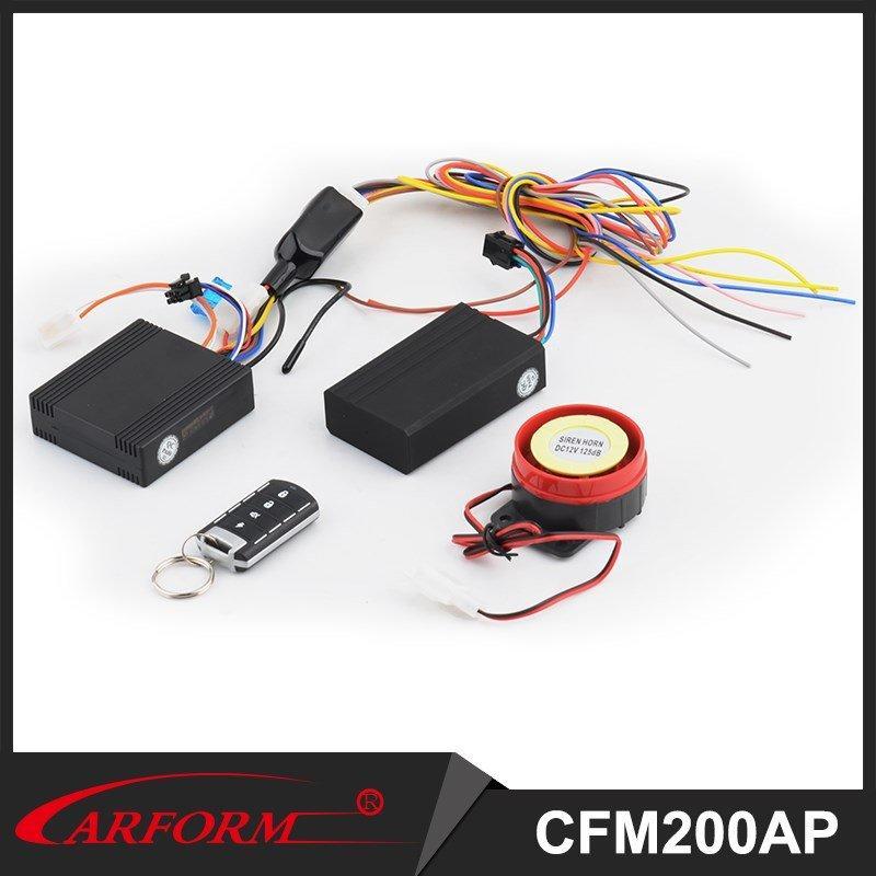 Del GPS moto alarma de vibración con mando a distancia