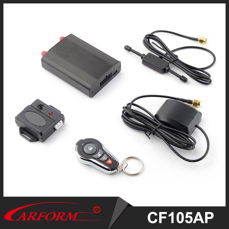 Seguimiento GPS en tiempo Real 105AP aprendizaje código Control remoto antirrobo GPS coche alarma
