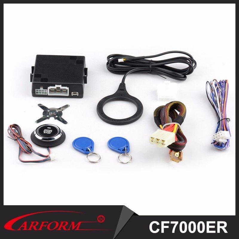 Auto accessories electronics Engine Start /Stop Push Button CF7000ER with Immobilizer RFID System CF7000ER