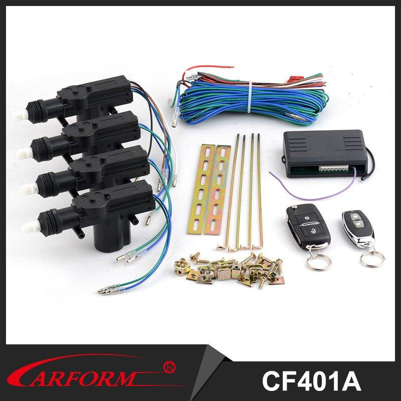 Universal Car Remote Central Kit Door Lock with high power Locking Vehicle Keyless Entry System CF401
