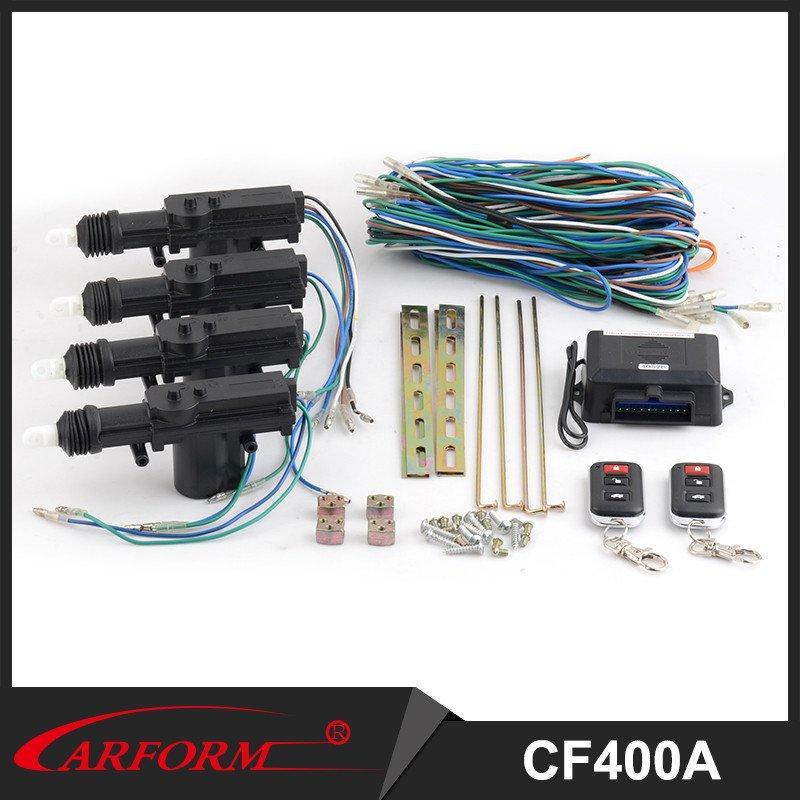 Universal Car Remote Central Locking System Power Door Lock / Unlock Remote Kit Keyless Entry 4 Doors