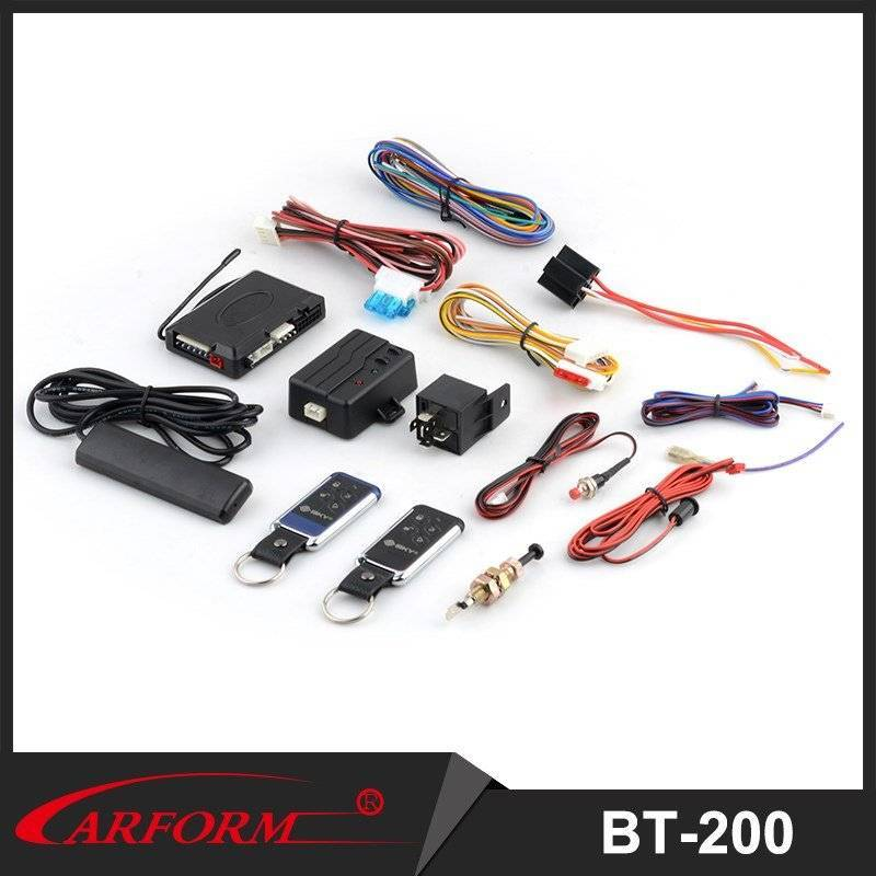 Phone App Bluetooth Control Distance Car Alarm BT-200 PKE Bluetooth Car Alarm System for 12v