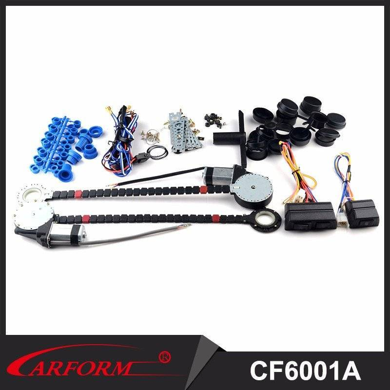Universal High Quality Power Window Kits 2 door Power Window with High Force Motors CF6001A