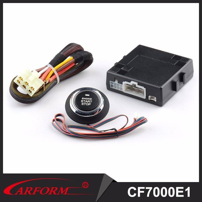 Auto Accessories Electronics Universal Push Button Start Stop Engine System without Keys for Universal Vehicle CF7000E1