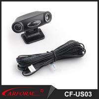 Car integrated ultrasonic sensor main unit and sensor combined and sensitivity adjustable