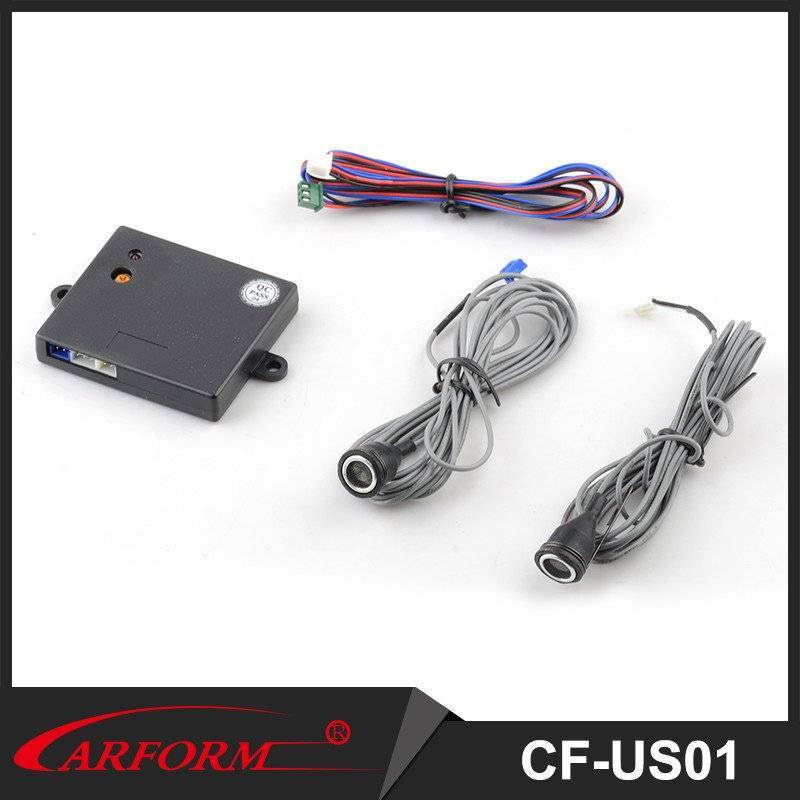 Car ultrasonic sensor CF-US01 with sensitivity adjustable and compatible with most car alarms