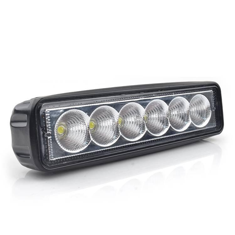 Super brighter 18W Spot Beam Light Bar led Lights Driving Fog Lights IP 67 Waterproof for Off-road Vehicle, SUV, Jeep, Boat