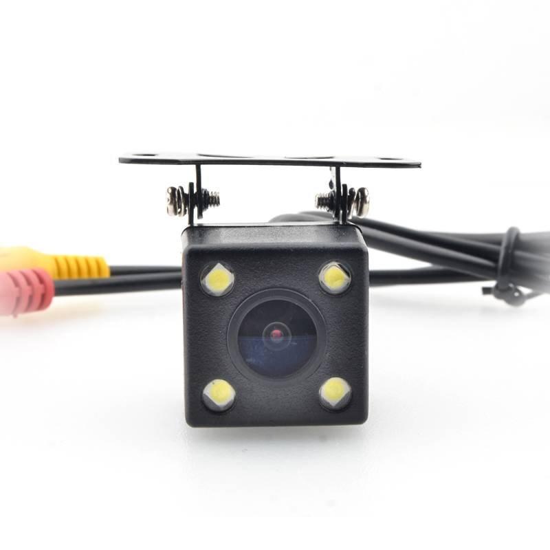 Universal intelligent dynamic trajectory Square HD night vision car reversing camera