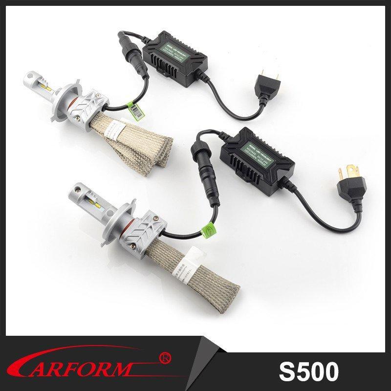High brightness aluminum heat dissipation Philps chip LED headlamp