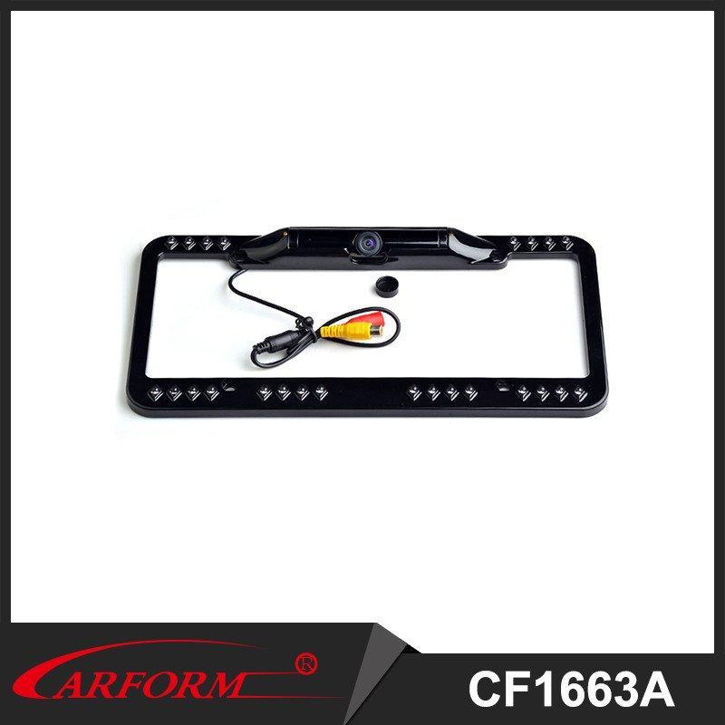 USA Car plate Camera , license plate frame Camera easy to intall, No Drill Camera