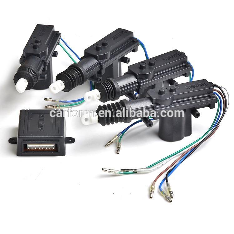 Universal Auto Hot Selling 12V Car Central Door Locking System Power Door Lock Actuator 5 wire Actuator
