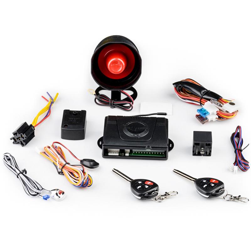 Remote control arm/disarm one way car alarm security system