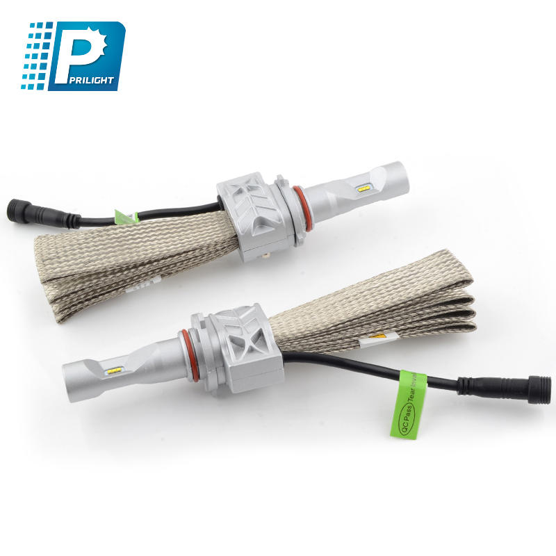 High brightness aluminum heat dissipation LED headlight