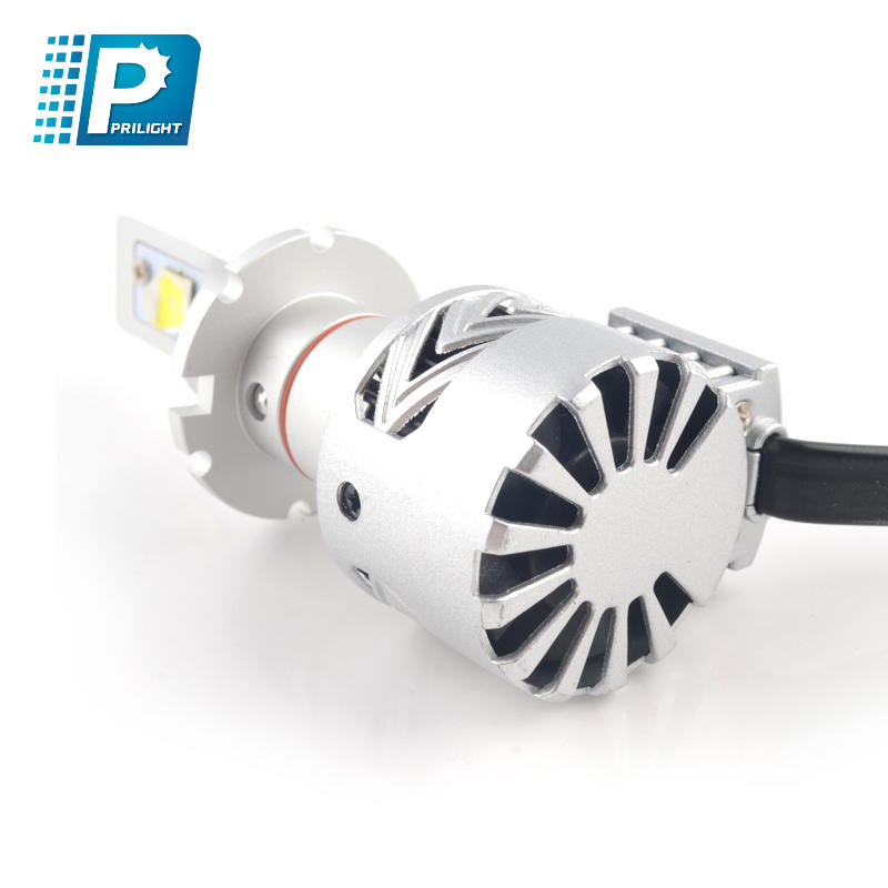 Best Car LED Headlight S800 H1 H3 H4 H7 H11 H13 9004 9005 9006 9007 DC 12V-24V 6000LM 80W 6500K with Fan Car Lights