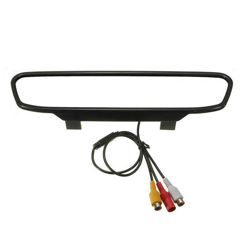 4.3 inch rearview mirror with camera, rear view parking sensor system CF5400R for 12V car
