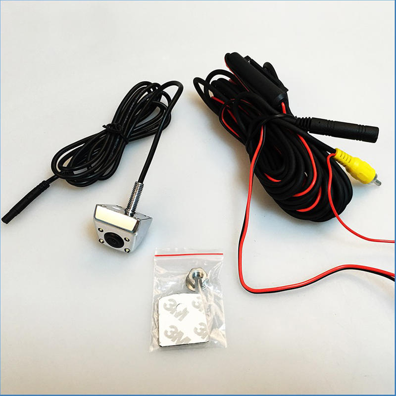 LED Car camera,  Metal back up camera, rearview parking system