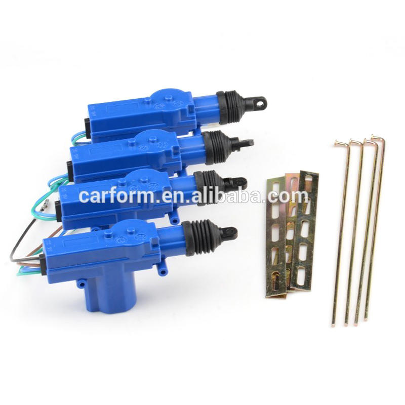 2019 Car central locking system kit CF302-ST4 with special door actuator design for South American market
