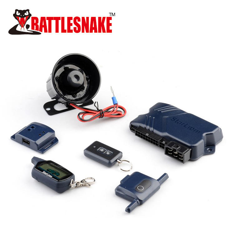 Hot selling remote engine start 2 way car alarm system ST800A