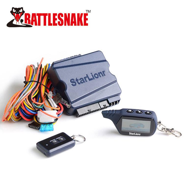 New arrived 2 way car alarm ST400A system with remote engine start
