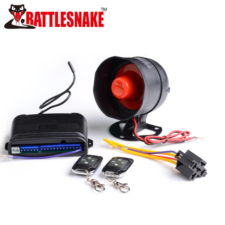 Car alarm security system CF898P20 With With shock sensor, engine killer, valet switch