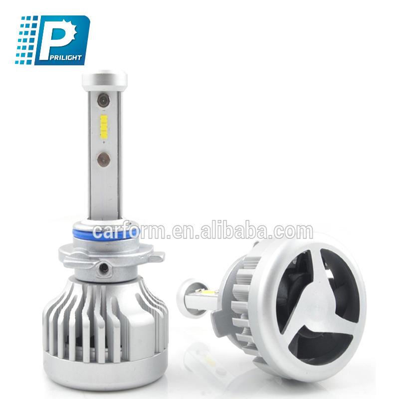 Factory 36W 12V  LED car headlight bulb headlight conversion kit h1 h4 h7 lighting kit