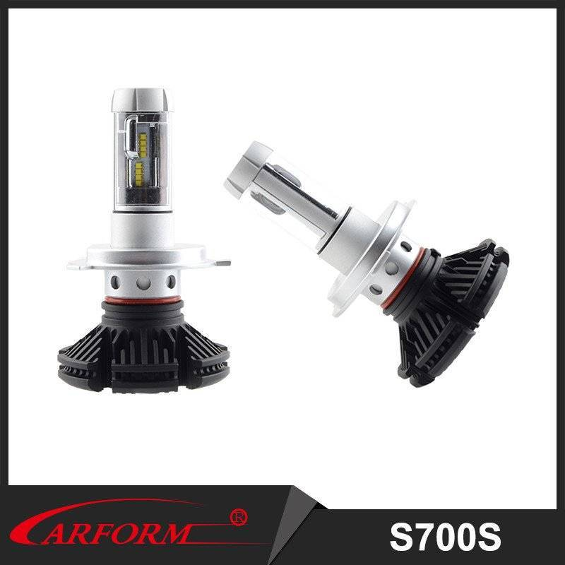 High quality car light and high brightness 6000LM long lifespan LED Headlight with IP67