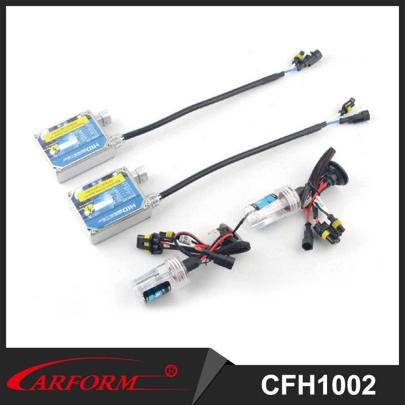 Factory price over 3000 hours 35W high power 3000K to 15000K HID conversion kits AC/DC HID xenon headlight