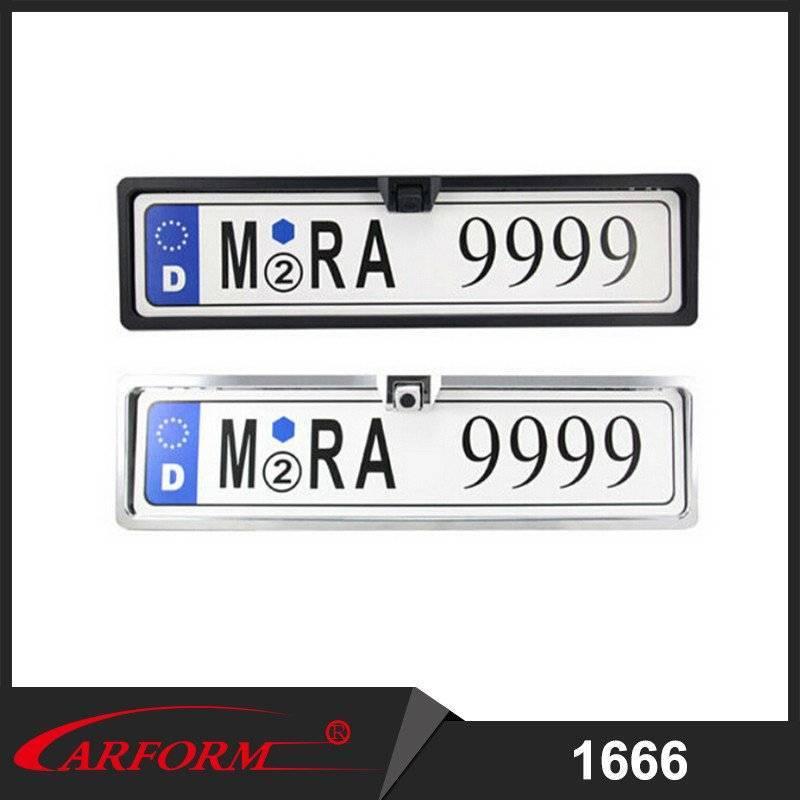 European license plate Camera, Car license plate rearview camera