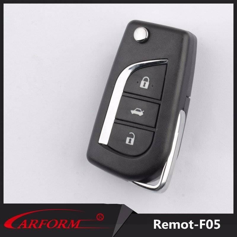 Factory private mould high level remote control with same quality as original car key blade