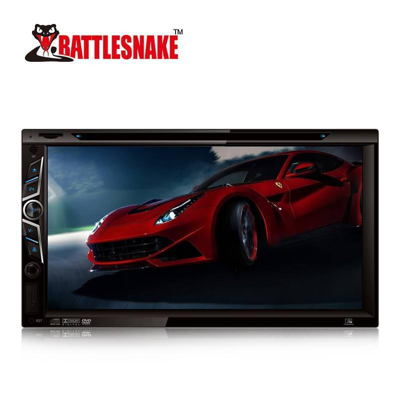 2019 HD Car 6.95 Inch Wide Screen TFT DVD