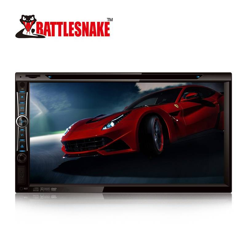NEW Product Car 6.95 Inch TFT Screen Double Din DVD Player for all cars