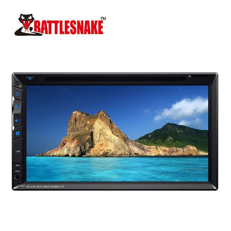 HD 6.95 Inch Wide Screen TFT DVD Player for all cars