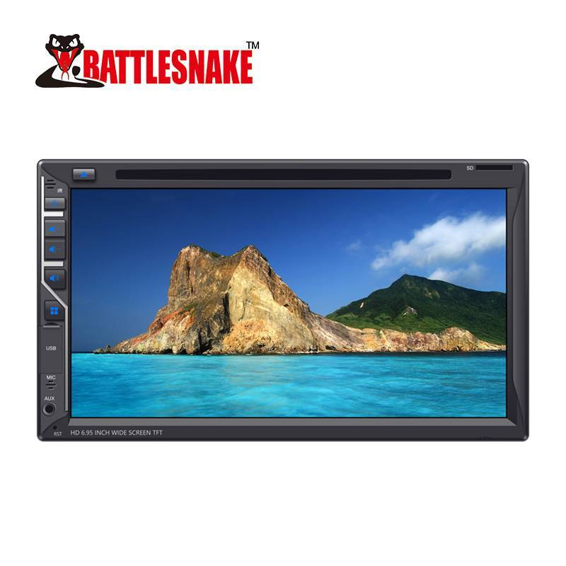 NEW Product Double Din Car HD 6.95 Inch Wide Screen TFT DVD