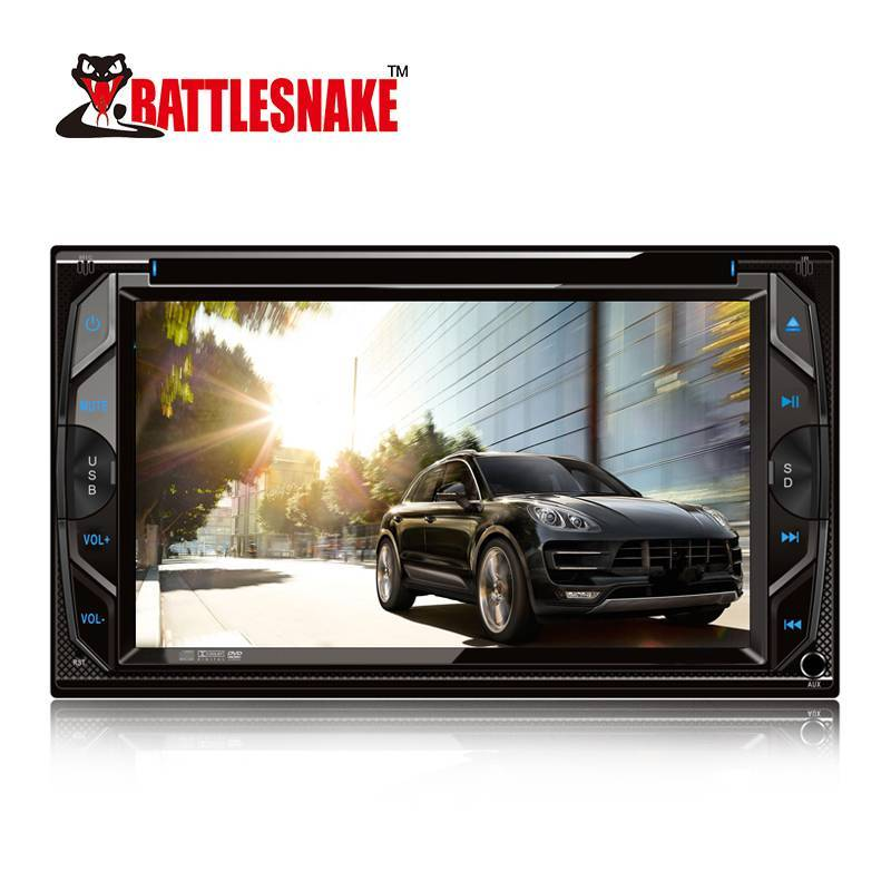 2019 NEW Product 6.2 Inch Screen TFT Car 2 Din DVD HD Player