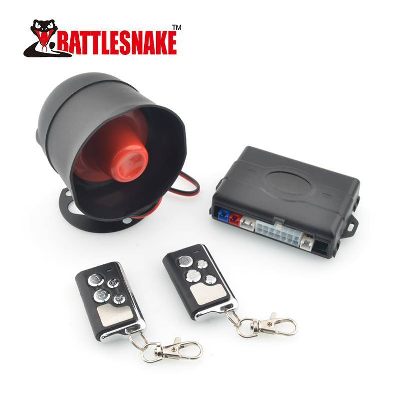 NEW Product car alarm system CF848 with automatic identification of positive and negative edges