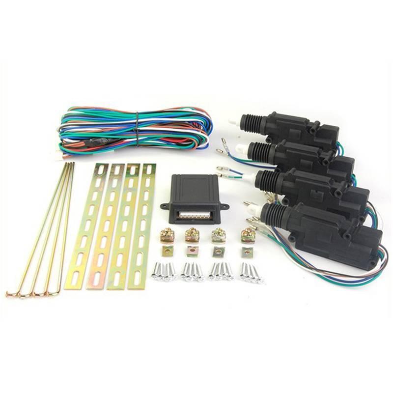 High class central door locking system CF307 1 master 12V Heavy power motor 7 KGS Door actuators