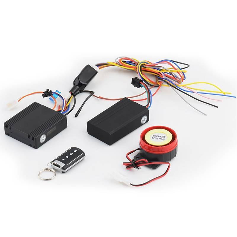 Vibration Alarm Motorcycle GPS Alarm System with Remote Control