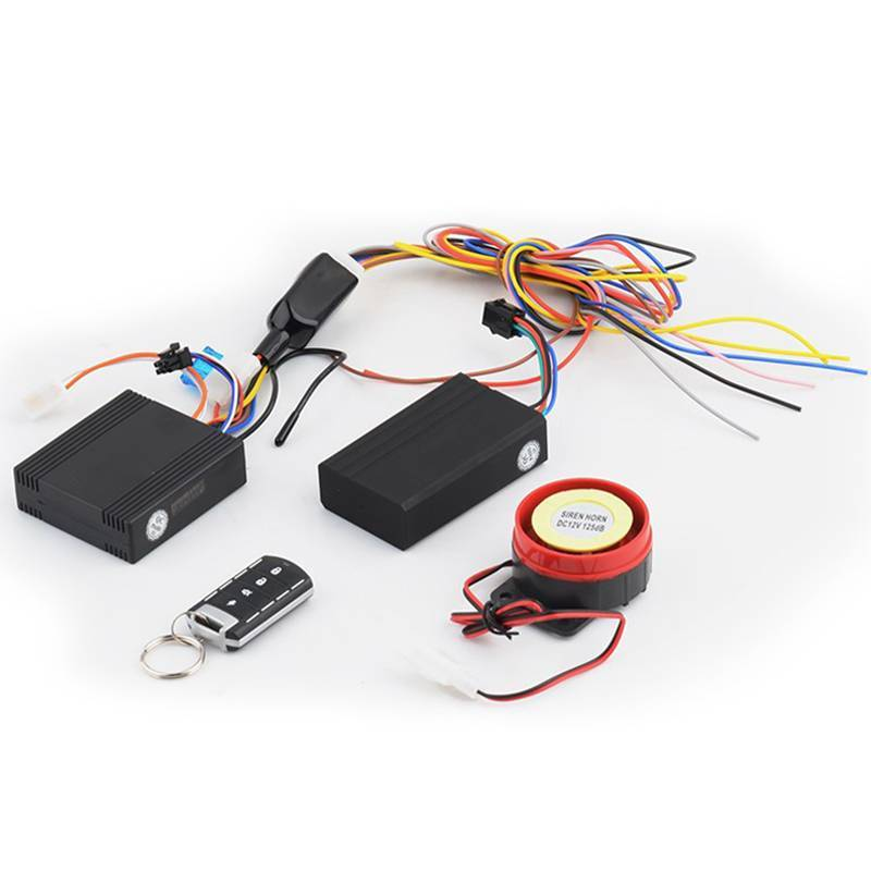 Remote Control Motorcycle GPS Alarm system with PKE Function