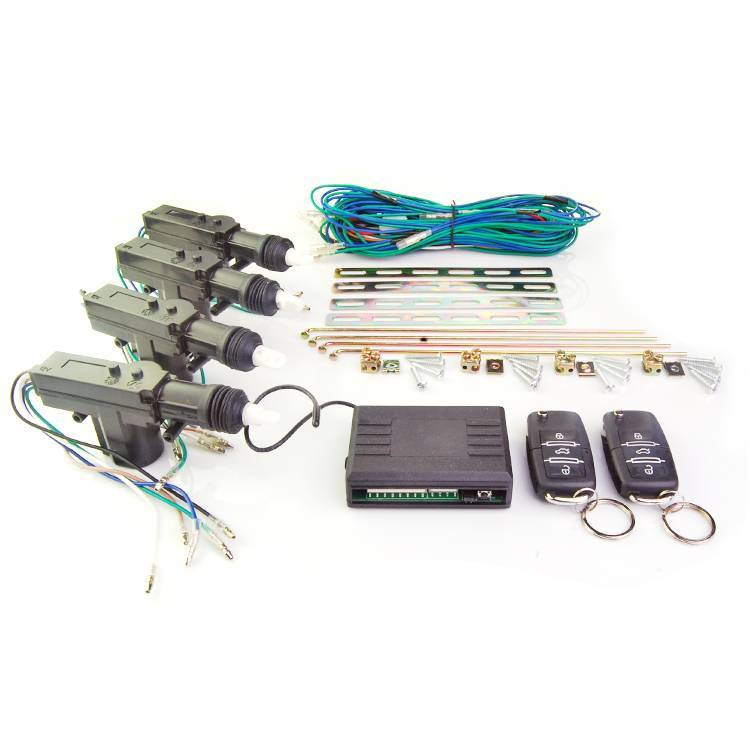 High performance DC 12V car remote center lock system with window closer output and trunk release