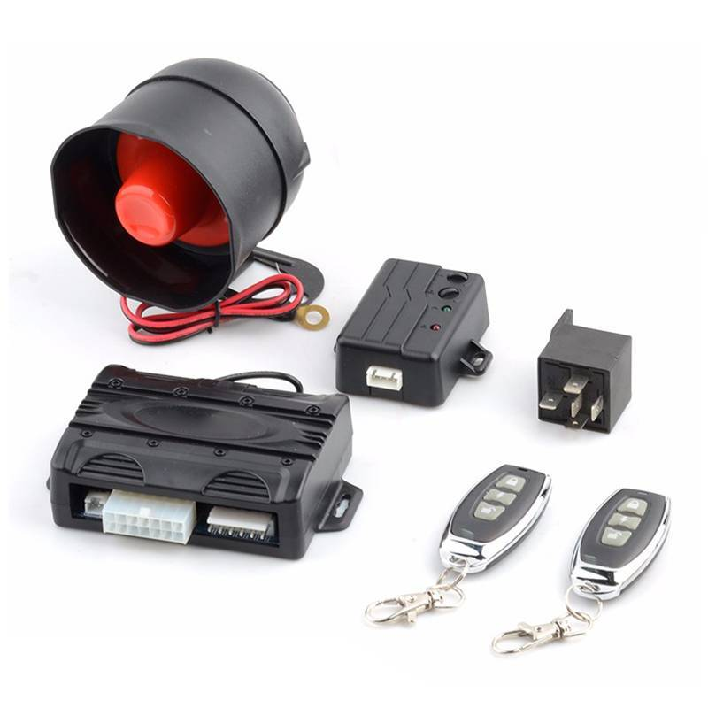 Hot selling in Ukraine market one way car alarm system CF791
