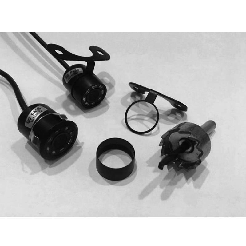 Surface Mounted Universal Third Brake Light Backup Camera by Rear View Safety CF1686L