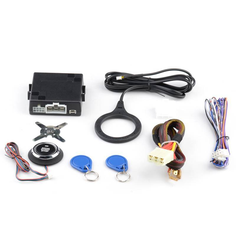 Auto accessories electronics Engine Start /Stop Push Button CF7000ER with Immobilizer RFID System