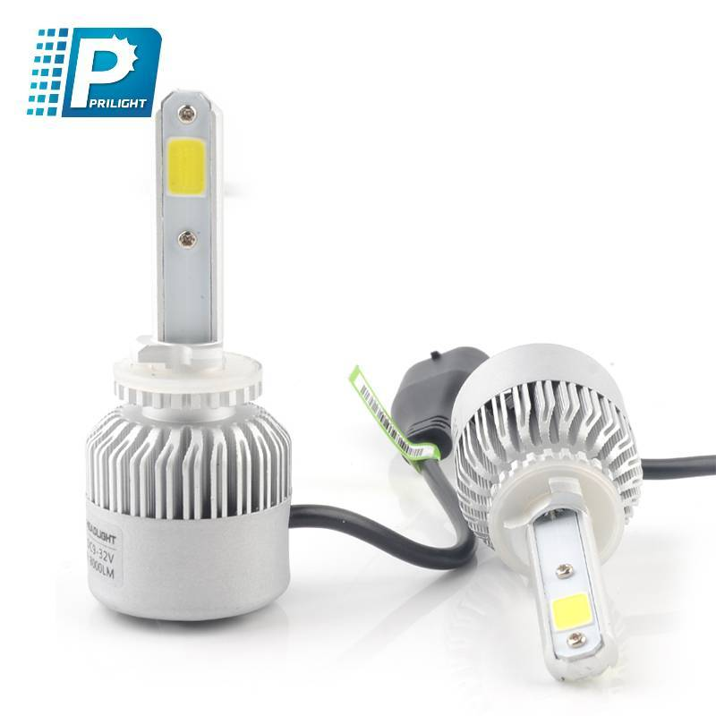 High power 8000LM auto car light 360° beam angel and IP65 60W LED Headlight kit