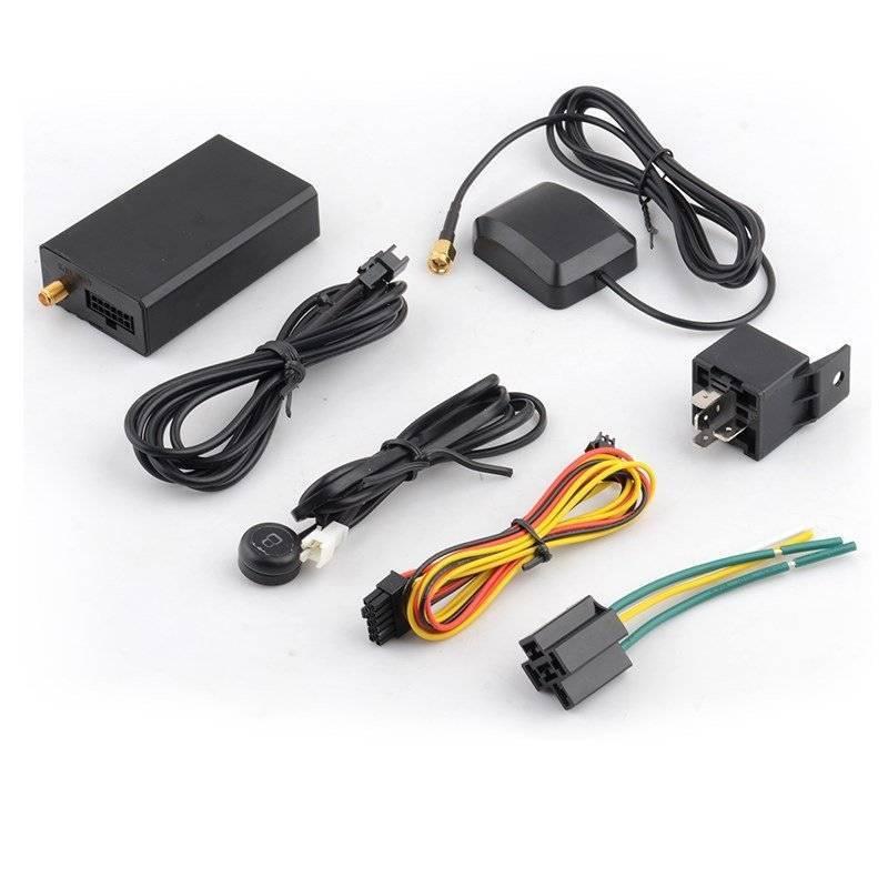 High quality car alarm system with GPS tracker