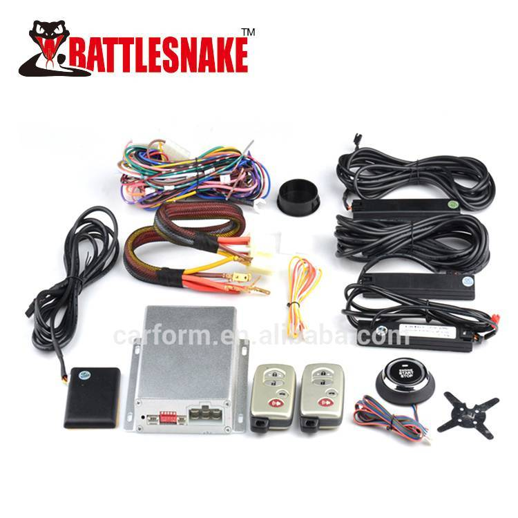Car PKE Engine Start Stop System with Remote Engine Start Stop and Push button With Car Alarm Function CF7008